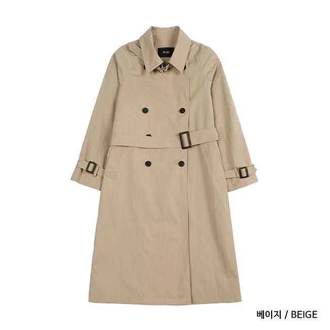 여성 더블 트렌치 코트(HW3BB60  )