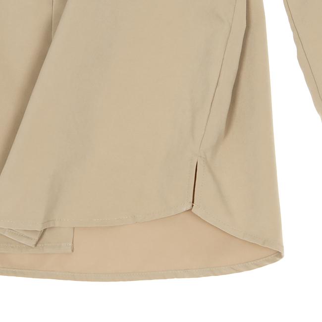 애드호크(ADHOC) 와이드 믹스드컬러 셔츠