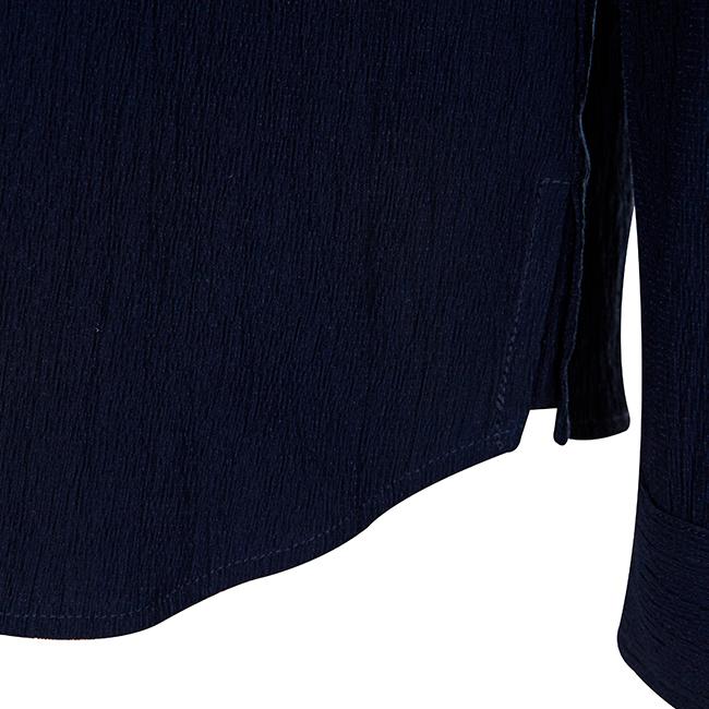 애드호크(ADHOC) 오픈 카라 포켓 셔츠
