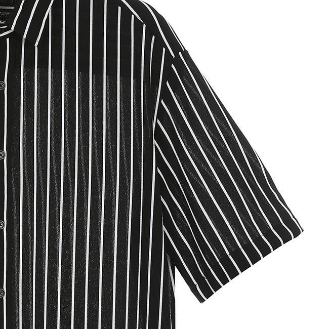 애드호크(ADHOC) 스트라이프 셔츠
