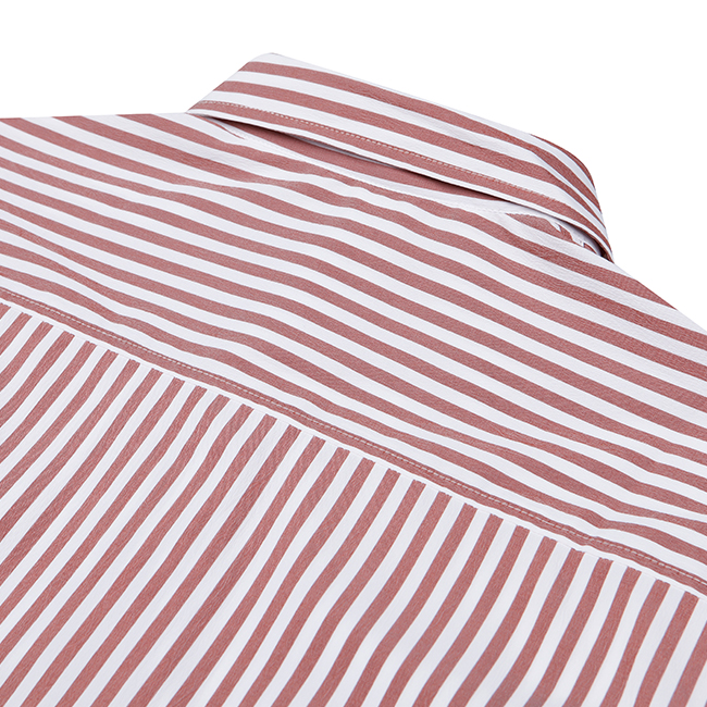 애드호크(ADHOC) 스트라이프 오버핏 셔츠