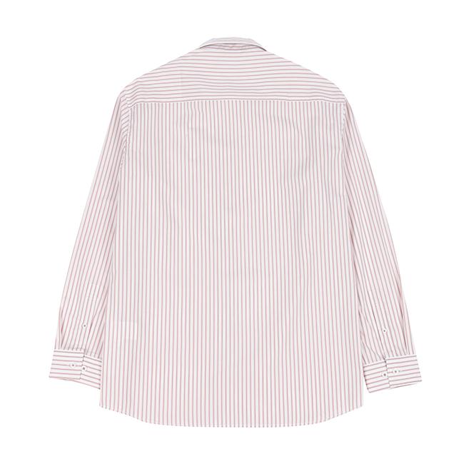 애드호크(ADHOC) 프린트 스트라이프 셔츠