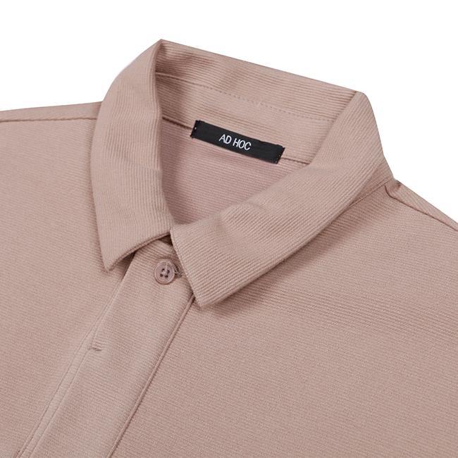 애드호크(ADHOC) 베이직 칼라 티셔츠