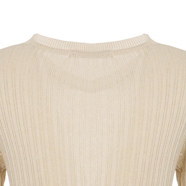 비지트인뉴욕(VISITINNEWYORK) 라운드 립트 스웨터